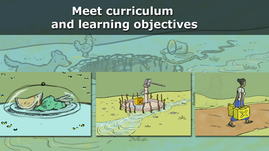 Meet curriculum and learning objectives